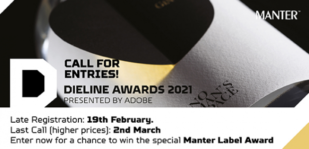 DIELINE AWARDS 2021 – LAST CALL!